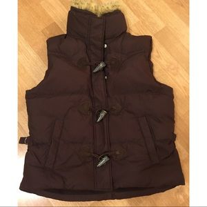 Ralph Lauren sport vest puffer jacket down feather